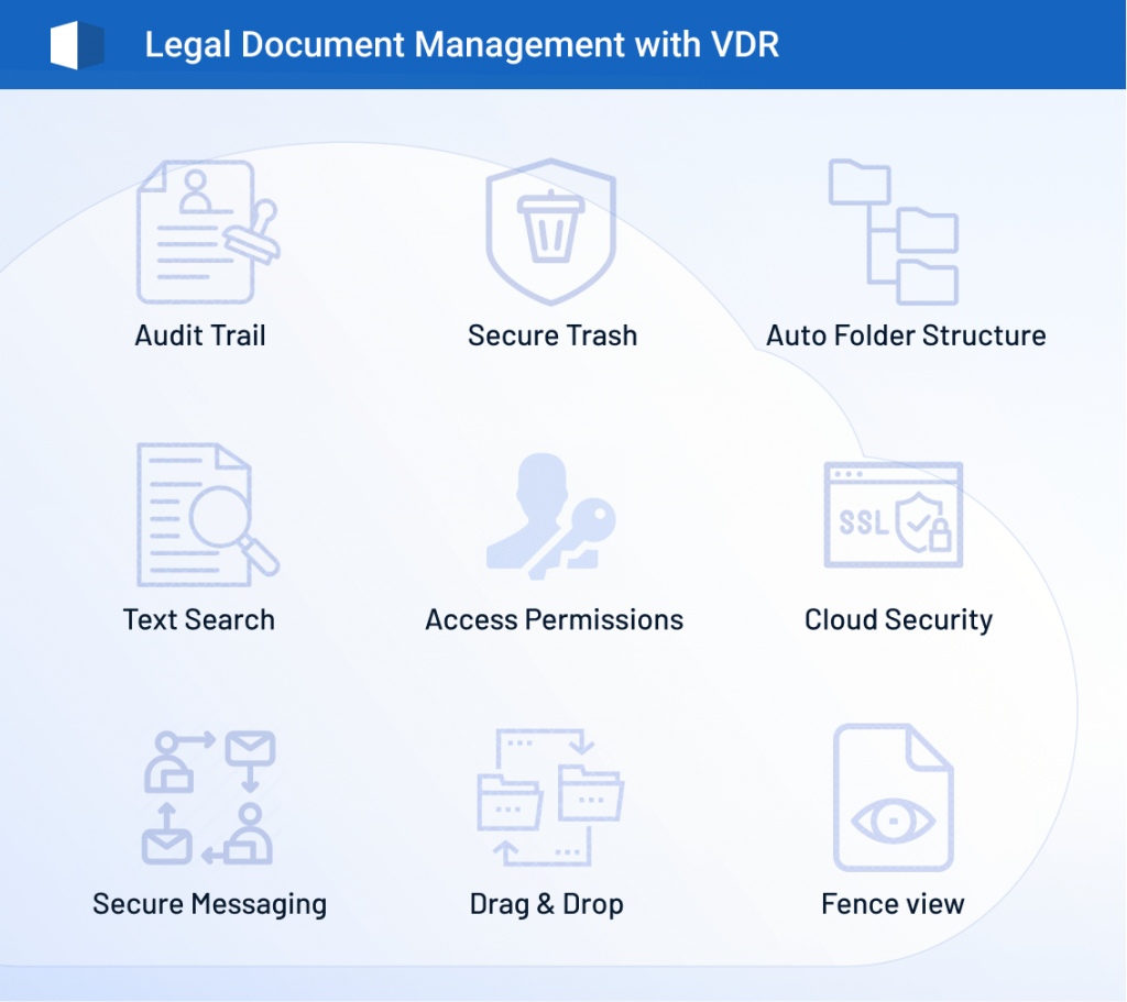legal data room, document management software, virtual data room for lawyers